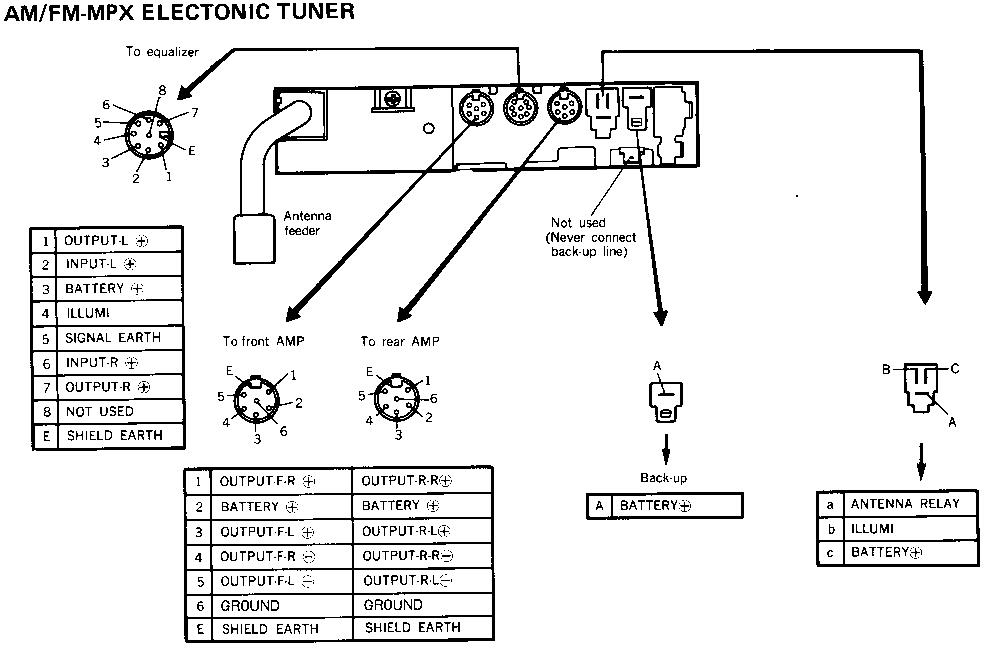 2nd Gen Stereoeq In 85 Gsl Rx7club Mazda Rx7 Forumrhrx7club: 1985 Mazda Rx 7 Wiring Diagram All Image About At Elf-jo.com